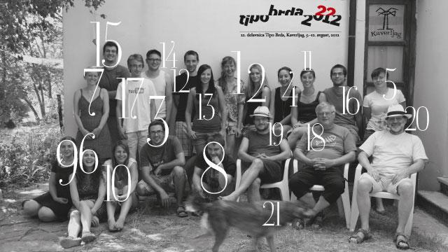 22. delavnica: Avgust 2012