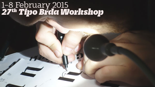 Winter 2015 Typedesign Workshop
