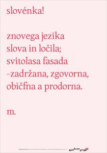 Martin Košir: Slovenka