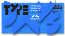 Type Days Ljubljana 2018